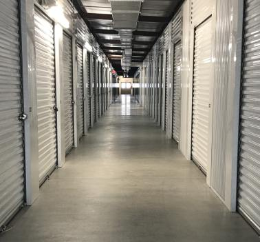Inside our storage facility